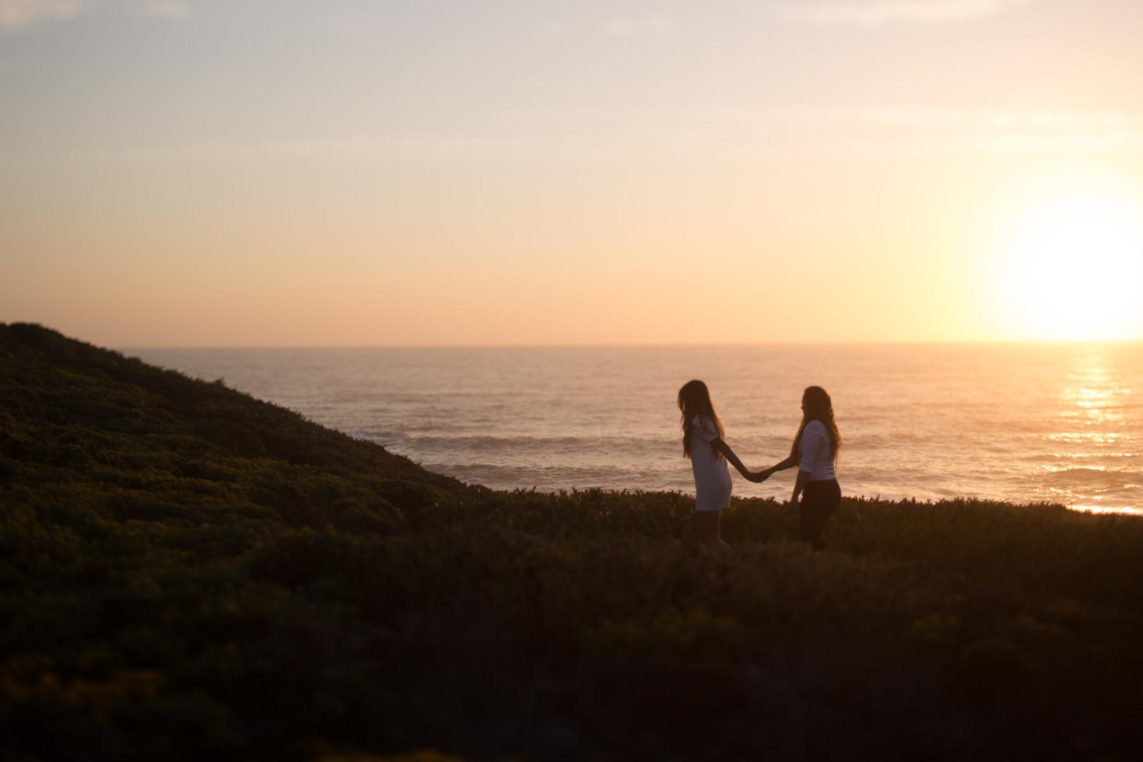 Big Sur Engagement photographer - LGBT Photographer California