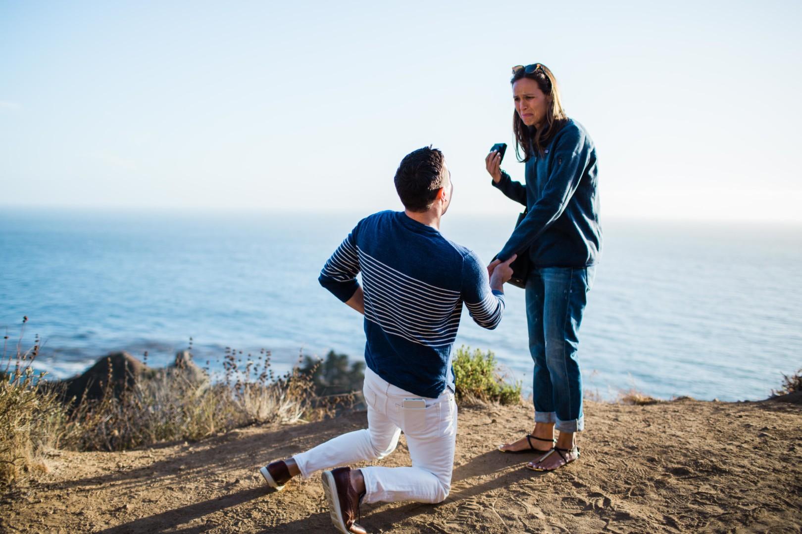 Big Sur Elopement Proposal Photographer Barkis Co